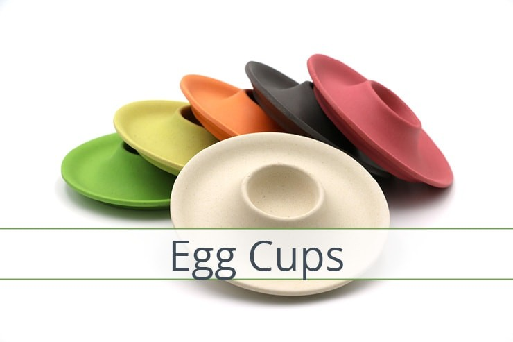 Bamboo Egg Cups