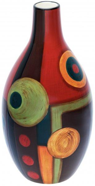 """Magu Keramik Vase 32cm handbemalt """"SAMBA"""" - 190 876"""