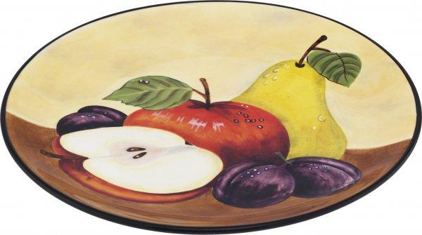 "Keramik Frühstücksteller 20 handbemalt ""TOSCANA"" - Magu 120 312"