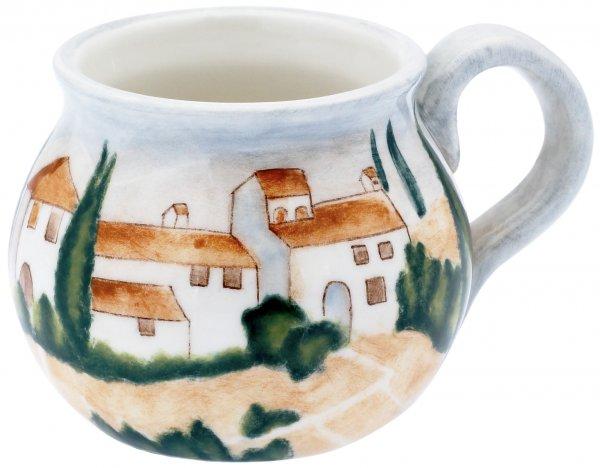 "Magu Keramik Bowlentasse handbemalt ""SIENA"" - 125 951"