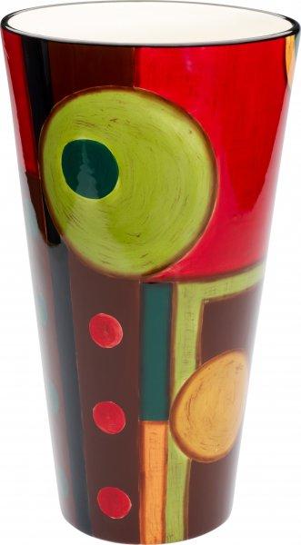 """Magu Keramik Vase 30cm handbemalt """"SAMBA"""" - 190 848"""