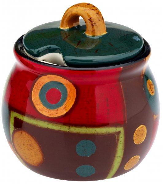 "Magu Keramik Zuckerdose handbemalt ""SAMBA"" - 190 745"