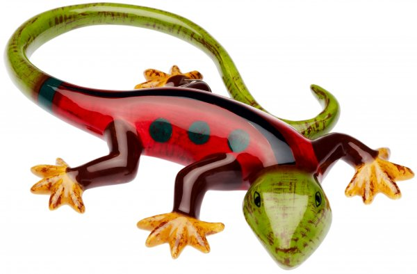 "Magu Keramik Gecko 15cm handbemalt ""SAMBA"" - 190 964"