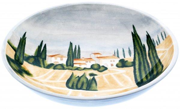 """Magu Keramik Obstschale rund 40cm handbemalt """"SIENA"""" - 125 115"""
