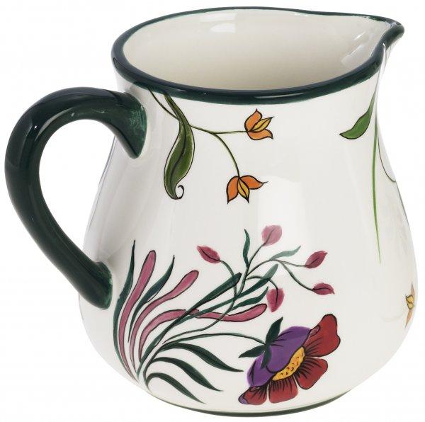 "Magu Keramik Krug 1,0 ltr. handb.""BLÜTENZAUBER"" - 124 912"
