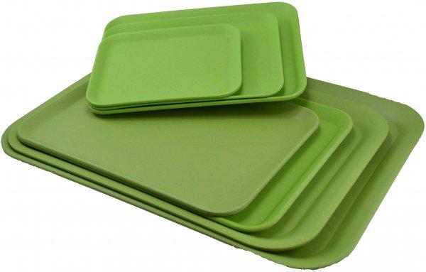 "Magu Tablett 30,5x22cm ""Natur Design"" Bambusgeschirr - 130 224"