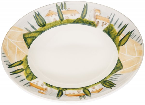 "Magu Keramik Pasta-Teller 29cm handbemalt ""SIENA"" - 125 356"