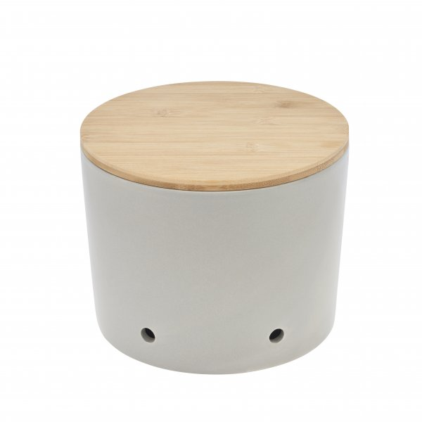 Magu Keramik Zwiebeltopf 20cm CERA-DESIGN Silver - 117 664