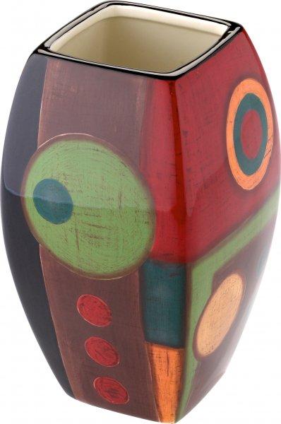 """Magu Keramik Vase 20cm handbemalt """"SAMBA"""" - 190 862"""