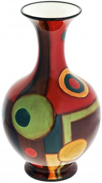 """Magu Keramik Vase 36cm handbemalt """"SAMBA"""" - 190 856"""