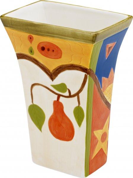 "Magu Keramik Vase 20cm handbemalt""MIDNIGHT"" - 192 866"