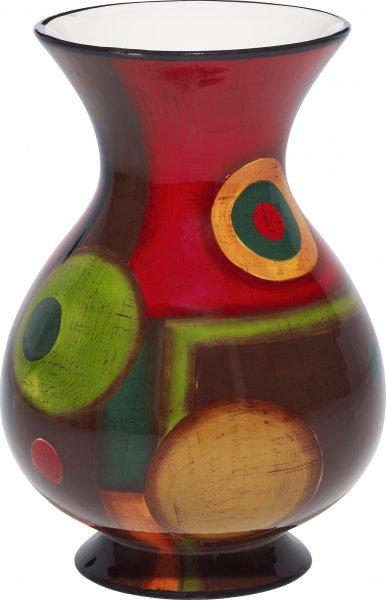 """Magu Keramik Vase 20cm handbemalt """"SAMBA"""" - 190 852"""