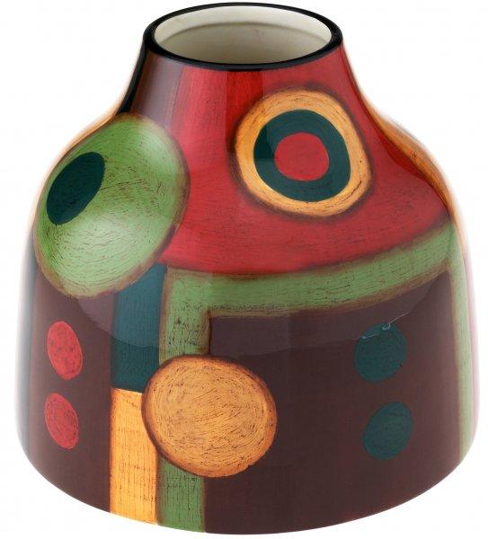 """Magu Keramik Vase 18cm handbemalt """"SAMBA"""" - 190 872"""