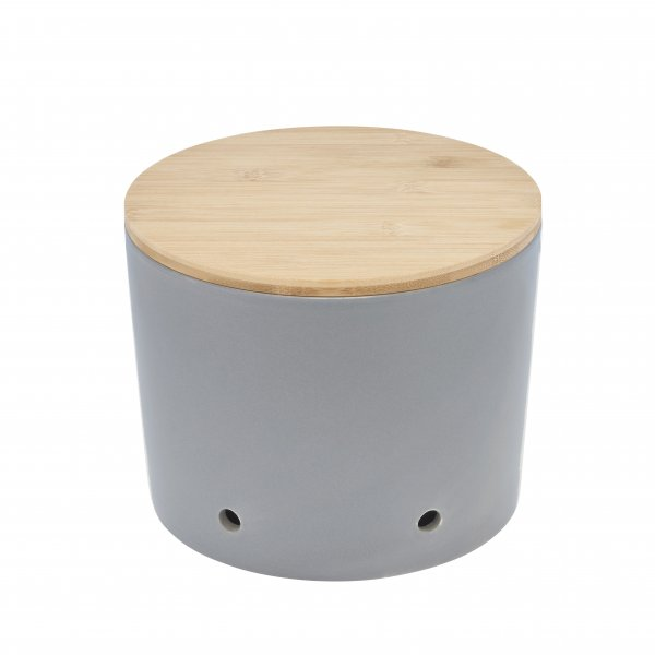 Magu Keramik Zwiebeltopf 20cm CERA-DESIGN Schiefer - 116 664