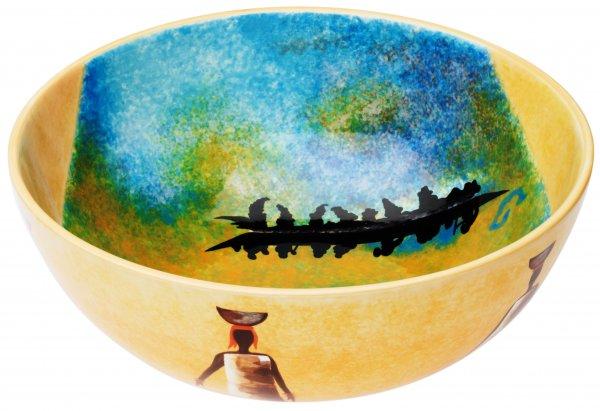 """Magu Keramik Schale rund 26cm """"AFRICAN DREAM"""" - 194 117"""