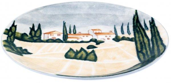 "Magu Keramik Frühstücksteller 20 handbemalt ""SIENA"" - 125 312"