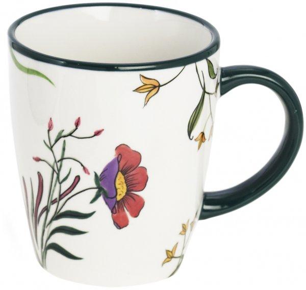 "Keramik Keramik Henkelbecher handb.""BLÜTENZAUBER"" - Magu 124 463"